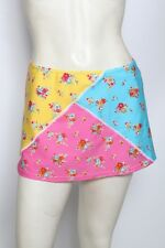 Agua Doce Pink Floral Flowers Skirt Swimsuit Cover Up Sz S M L NWT $69
