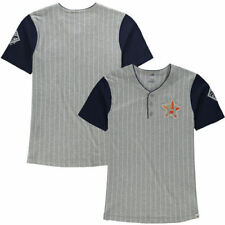 Houston Astros Majestic Youth Life or Death Henley T-Shirt - Gray - MLB