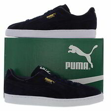 Puma Suede Classic Mens Blue Suede Leather Trainers Size UK 8-11