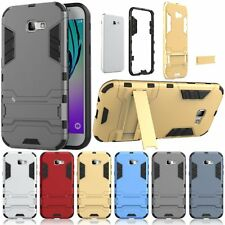 For Samsung Galaxy A7 (2017) Case Skin Armor Protective KickStand Hard Cover New