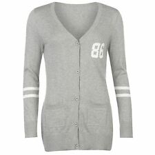 SoulCal Womens 86 Cardigan Jumper Long Sleeve Button Front Top