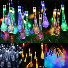 Outdoor Solar Powered 30 LED String Light Garden Path Yard Lamp XMAS Party Decor