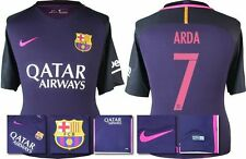 *16 / 17 - NIKE ; BARCELONA AWAY SHIRT SS / ARDA 7 = KIDS SIZE*