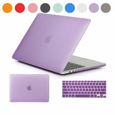 For Macbook Pro Air 11 13 15 Frosted Cover Rubberized Hard Case Keyboard Skin