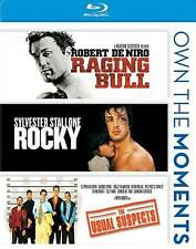 Raging Bull/Rocky/The Usual Suspects Blu-ray3-Disc Set Own the Moments