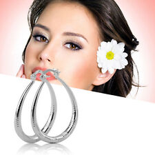 New Unique Fashion Exquisite Silver Plated Woman Lady Earrings Modern Jewelry LK