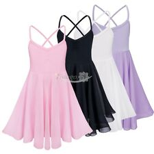 Girls Ballet Leotard Tutu Dance Skirt Toddler Chiffon Dancewear Costume Dress