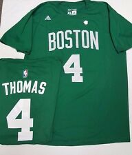 THOMAS BOSTON CELTICS NAME AND NUMBER JERSEY SHIRT NEW TAGS