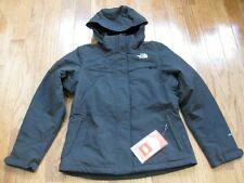 NWT The North Face Womens Inlux Insulated Jacket Coat TNF Black XS