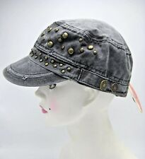 Distressed Camo Trucker Hat One Size Olive Green, Gray or Khaki New