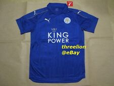 BNWT Puma 2016/17 Leicester City Home Soccer Jersey Football Shirt Trikot 897472
