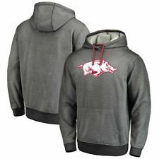Arkansas Razorbacks Fanatics Branded Performance Pullover Hoodie - Gray - NCAA
