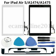 For iPad Air 5/A1474/A1475 w/Home Key Touch Screen Digitizer Glass Lens &Tools
