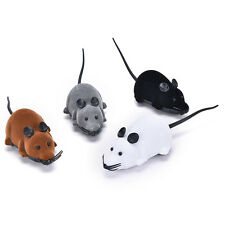 Wireless Simulation Plush Mouse RC Electronic Rat Mouse Mice Toy For Pet Cat Toy