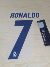 Real Madrid Kit Printing Nameset for football jersey shirt Navy Home 2016 17