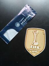 Real Madrid Kit Patches Badges x football shirt FIFA Club World Cup 2016
