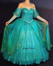 FP158 with sea star rhinestone Ariel gown dress Little mermaid