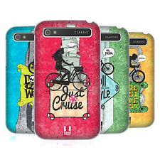 HEAD CASE DESIGNS BICYCLE LOVE HARD BACK CASE FOR BLACKBERRY PHONES
