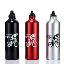 Sports Water Bottles Drinking Cycling Hiking Fitness Gym Bottle U@