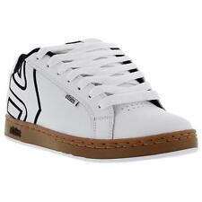 Etnies Fader Mens White Skate Shoes Trainers Size UK 8-11