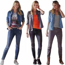 Ladies Skinny - JEANS Biker Look Slim Fit Skinny Jeans Jeans Trousers Stretch