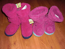 BNWT GIRLS JOULES JNR SNOOPY FLUFFY PINK DOG SLIPPERS BOOTS SZ M 11-13.LAST PAIR