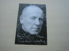 Christopher Timothy (Doctors) hand signed RARE *FREE POST*