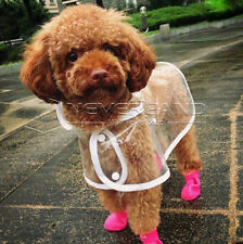 Pet Dog Rain Protective Boots Waterproof Puppy Rubber Shoes Booties Anti-Slip
