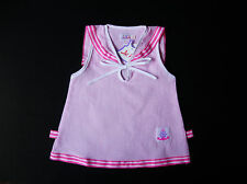 BABY GIRL DRESS Pink Check Pattern Cotton Dress Night Wear Baby Casual Clothing