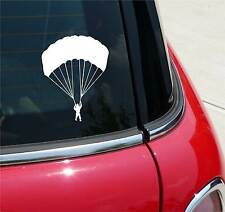 PARACHUTE PARACHUTING SKYDIVING GRAPHIC DECAL STICKER ART CAR WALL DECOR
