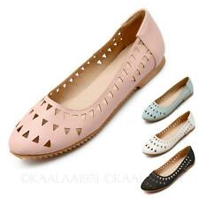kala Dolly Shoes Faux Leather Summer Ballet Flats Size 3 4 5 6 7 8 9 10 11 12 13