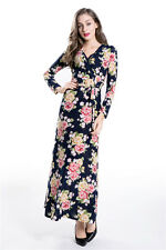 Big Size Ladies Boho Summer Casual Floral Sundress Party Beach Long Maxi Dress
