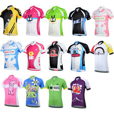 Design Bicycle Bike Cycling Jersey Short Sleeves Set For Kids Boys Girl Children