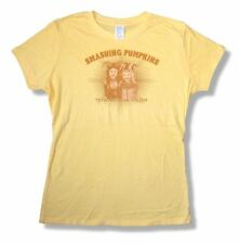 Smashing Pumpkins 20th Anniversary Tour 2008 Girls Juniors Yellow T Shirt New