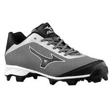 NEW MENS MIZUNO 9 SPIKE BRAZE ELITE 5 BASEBALL CLEATS 10 SHOES GRAY AND WHITE