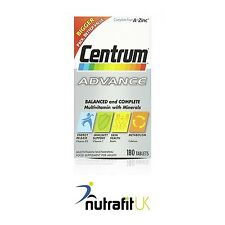CENTRUM ADVANCE 180 TABLETS MULTI VITAMIN MINERAL FORMULA