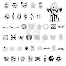 20-500pcs Lots Tibetan Silver Spacer Loose Charm Metal Beads Jewelry 50 Style