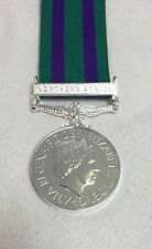 New GSM 2008 Northern Africa Clasp Full Size Medal, Mounting Option, Army