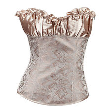 Sexy Body Shapewear Shaping Women Lace Corsets  Vest G-string Lingerie Set I~
