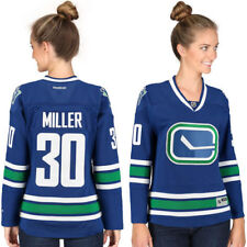 Ryan Miller Vancouver Canucks Reebok Women's Premier Player Jersey - Blue - NHL