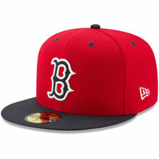 Boston Red Sox New Era Youth Diamond Era 59FIFTY Fitted Hat - Red/Navy - MLB