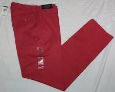 NWT Mens Polo Ralph Lauren Classic Fit Khakis Chinos Pants Nantucket Red $74 *F4