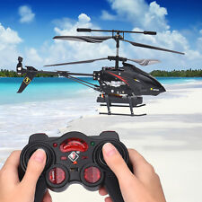 S977 3.5CH Camera Channel RC Metal Helicopter Gyro Radio Remote Blade Control US