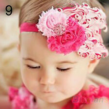 Baby Girl Kids Infant Toddler Feather Headband Hair Band Hair Flower Fashion
