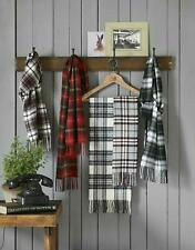 Luxury Warm Lambswool Tartan Scarves - Highland Tweeds - Scarf Made in Britain