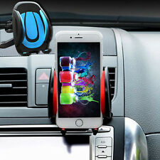 Red -YP260 360° Car Air Vent Mount Cradle Holder Stand For Cell Phone GPS LG