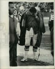 Press Photo NY Jets QB Joe Namath at game vs Baltimore Colts - lfx01810