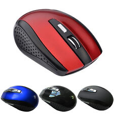 Optical Mouse Cordless Mice 2.4GHz Wireless USB Receiver for PC Laptop 4Color