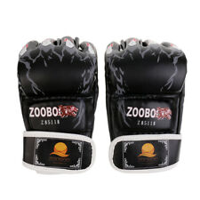 Sparring MMA Half-finger Boxing Gloves Karate Taekwondo Muay Thai Training Punch