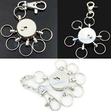 One Swivel Multi Removeable removable Detatchable Keychain Keyring Clips 3 Style